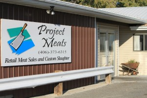 Project Meats Store Front